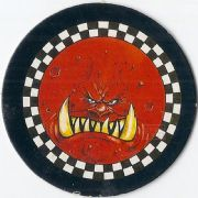 Blood Bowl Kick Off Coin Card
